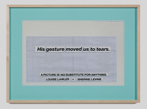 Larry Johnson, Untitled (Moved to Tears), 2010