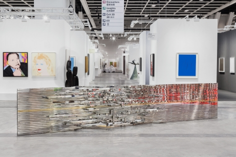 Alicja Kwade, The Beat, 2017, Art Basel Hong Kong | Encounters
