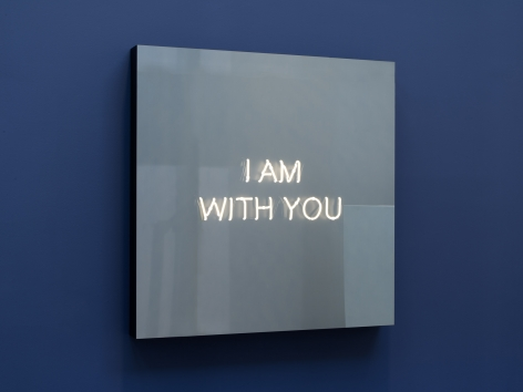 Jeppe Hein,  I AM WITH YOU, 2018