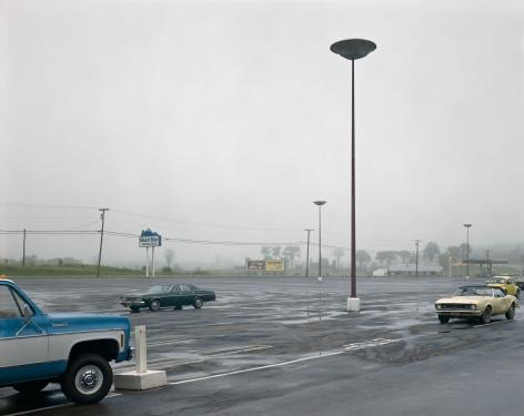 Stephen Shore, Mount Blue Shopping Center, Farmington, Maine, July, 30 1974