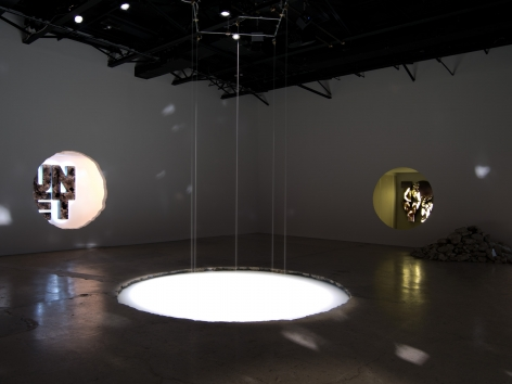 Doug Aitken, 100 YRS, Installation view at 303 Gallery, 2013