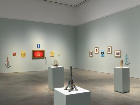 Installation view: Karen Kilimnik, 303 Gallery, New York, 2019. Photo: John Berens