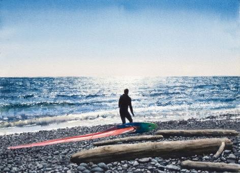 Tim Gardner, Untitled (Windsurfer), 2008