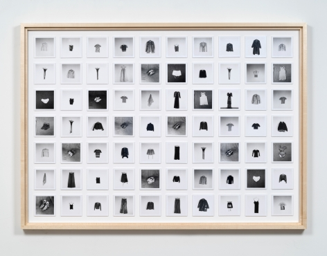 Hans-Peter Feldmann, All the clothes of a woman