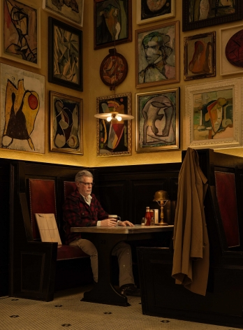 Rodney Graham, Artist in Artists' Bar, 1950's, 2016