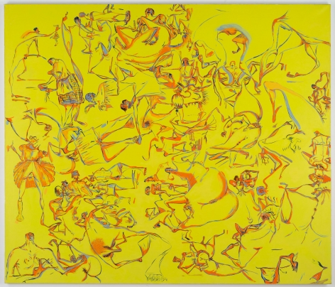 Sue Williams, Darklight, 1996