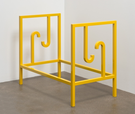 Elad Lassry, Untitled (Yellow Bed), 2013