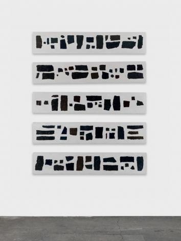 Valentin Carron, Cinq graviers tombent de son oeil truculent, 2015