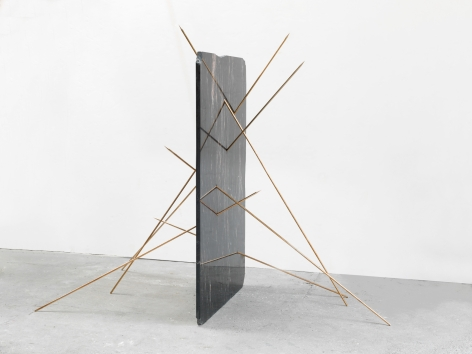 Alicja Kwade, StillStand (Sterne rauchend), 2018