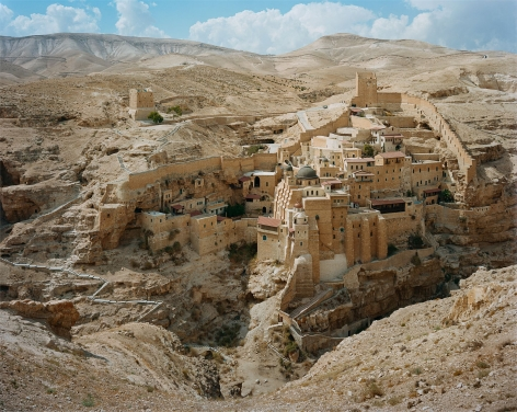 Stephen Shore, Mar Saba Monastery, Judean Desert, Israel, September 20, 2009