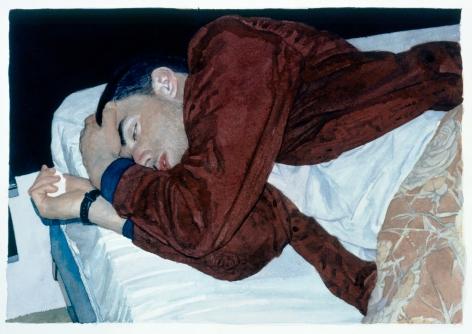 Tim Gardner, Untitled (Ryan in Bed), 2002