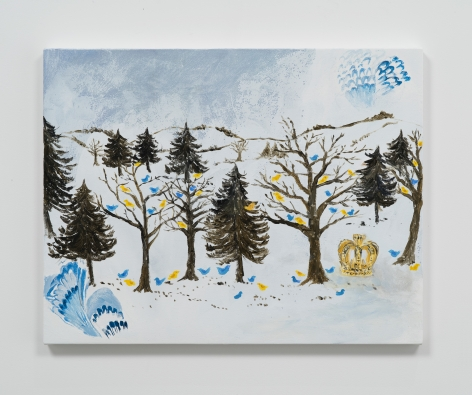 Karen Kilimnik, the royal Swedish forest