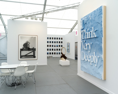 Frieze New York, 2014, 303 Gallery, Booth B61