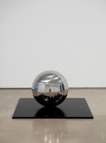 Jeppe Hein, Spinning Ball 50, 2007