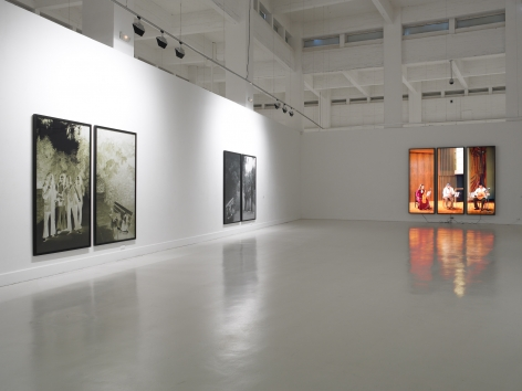 Rodney Graham, A Glass Of Beer: Installation view: CAC Málaga, Spain, 2008