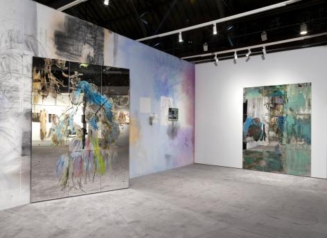 Nick Mauss, Installation view: ADAA: The Art Show, 2016