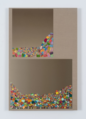 Rob Pruitt, Home Painting (Upstairs, downstairs)