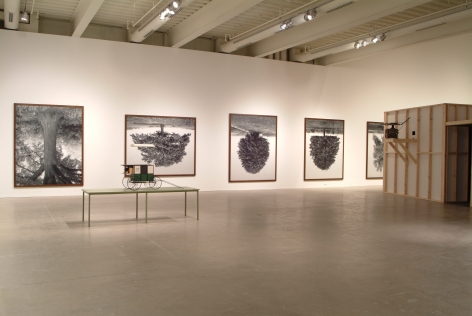 Rodney Graham, A Little Thought: Installation view: ICA, Philadelphia, 2005