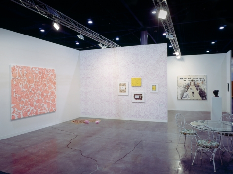 Sue Williams, Art Basel Miami Beach, 303 Gallery, 2003