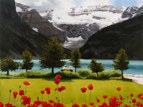 Tim Gardner, Untitled (Lake Louise), 2001
