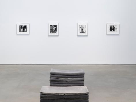 Installation view: Elad Lassry, 303 Gallery, New York, 2019