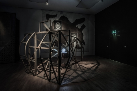 Jane and Louise Wilson, Installation view: Undead Sun: We Put the World Before You, Middlesbrough Institute of Modern Art, 2016