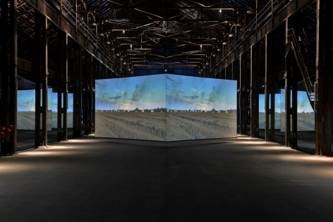 Doug Aitken, ALTERED EARTH, 2012