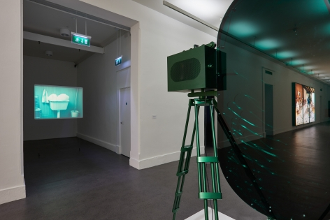 Installation view: Rodney Graham: That's Not Me, Irish Museum of Modern Art, Dublin, 2017