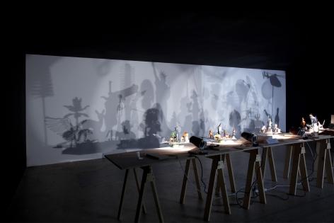 Hans-Peter Feldmann, Shadowplay, Installation at 303 Gallery, 2009