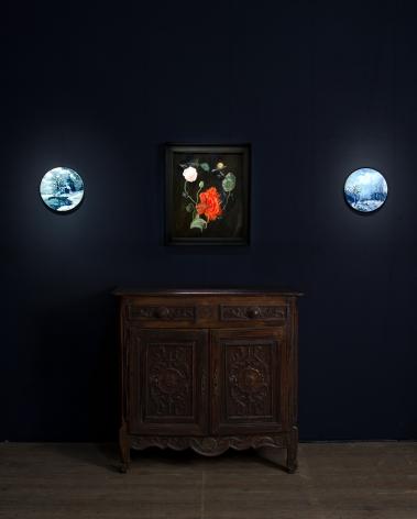 Karen Kilimnik, Installation view: ADAA: The Art Show. 2013