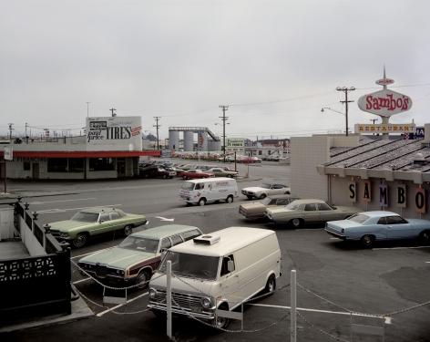 Stephen Shore, Sambo's, US 101, Eureka, California, July 29, 1973