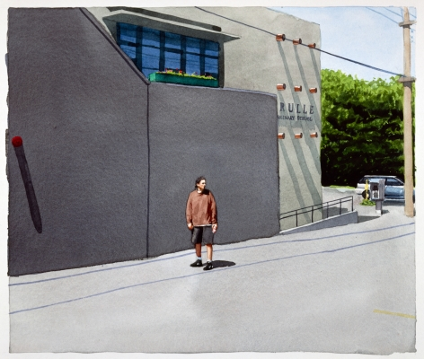 Tim Gardner, Untitled (Sto in alley: Vancouver), 1999