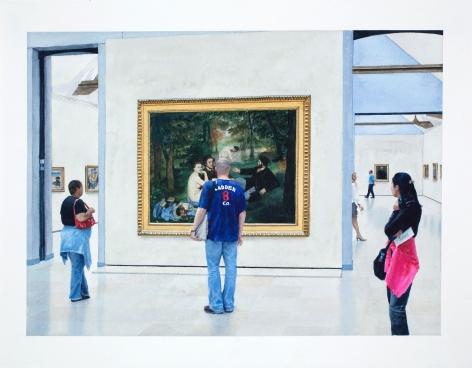 Tim Gardner, Untitled (Manet), 2009