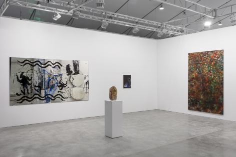 Installation view, 303 Gallery at West Bund Art & Design, Shanghai, Booth N205, 2018.