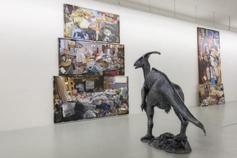 Rob Pruitt, Installation view:History of the World, Kunstverein Freiburg, 2012
