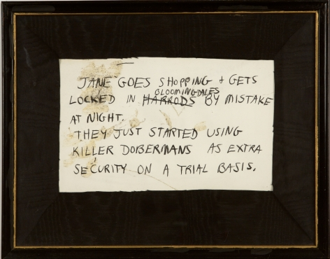 Karen Kilimnik, Jane Creep (Shopping), 1989-1990