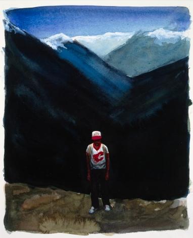 Tim Gardner, Untitled (Nick, Calgary Flames Shirt) , 1999