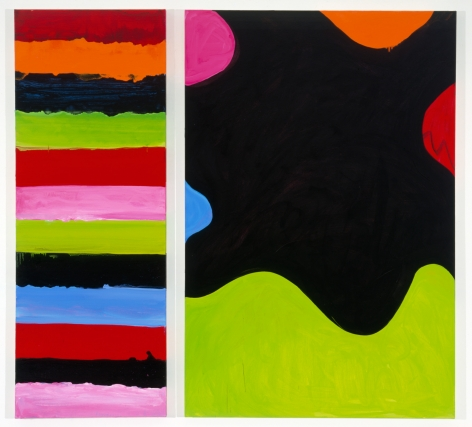 Mary Heilmann, Cut and Mix