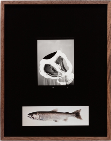 Elad Lassry, Untitled (Boots, Mackerel), 2018