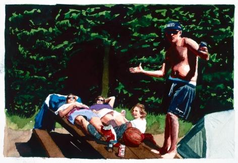 Tim Gardner, Untitled (Val, Trish, Tash and S), 1999