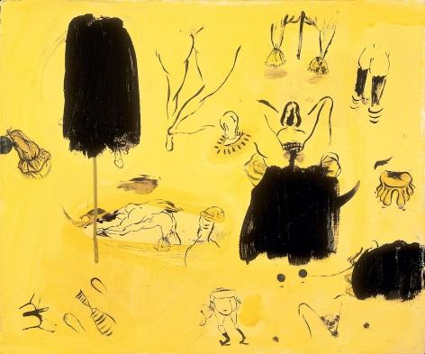 Sue Williams, Neglige, 1995