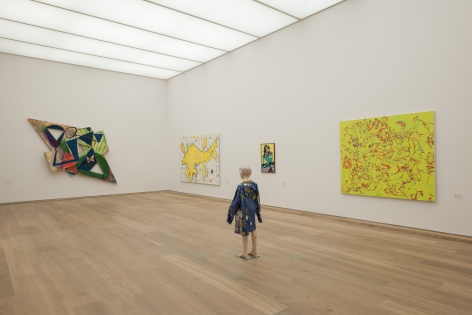 Installation view: Painting 2.0: Expression in the Information Age