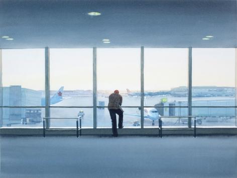 Tim Gardner, Man in Airport, 2009
