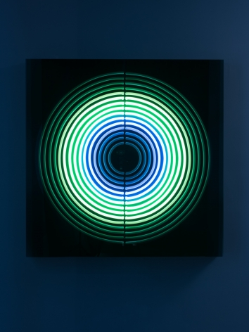 Jeppe Hein, Breathe from Pineal to Hara, 2019