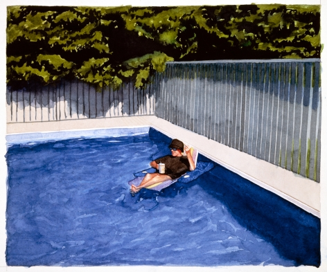 Tim Gardner, Untitled (S in pool chair), 1999