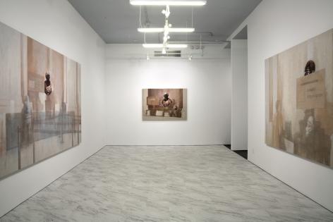 Esteban Jefferson,Installation view, Petit Palais,White Columns, New York, 2019