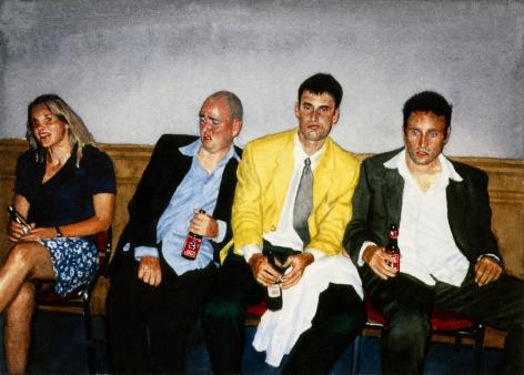 Tim Gardner, Untitled (S, Matt, Lars with Girl), 2001