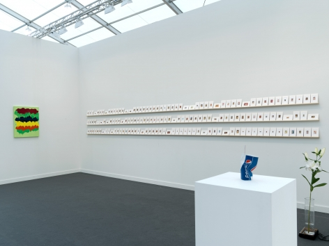 Installation view Frieze New York, 2016