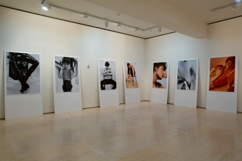 Collier Schorr, Installation view of Greater New York at MoMA PS1, 2015.