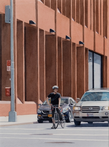 Tim Gardner, Bike Messenger, 2018